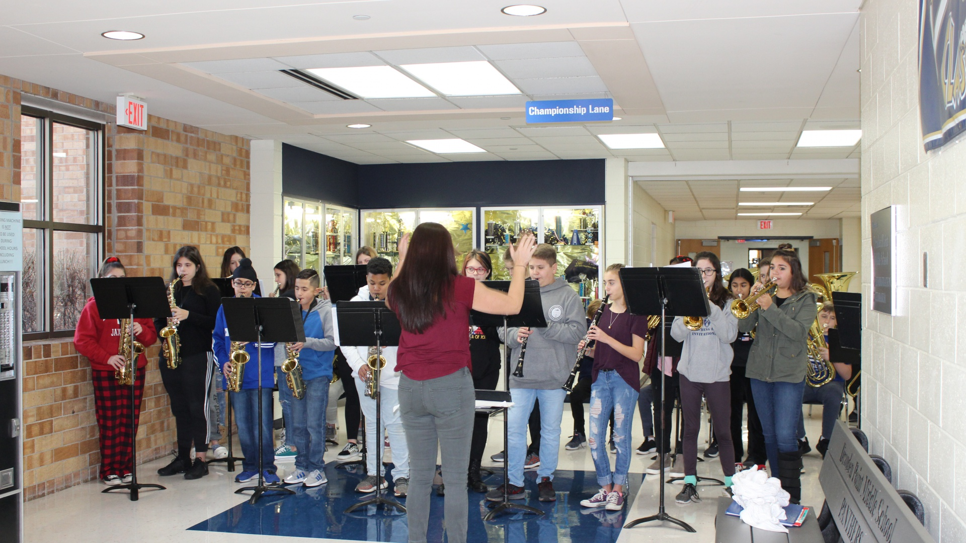Jazz Band Performs